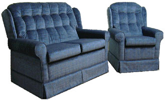 Pace furniture Cambridge sofa and chair