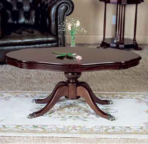 Fitzroy Regency Serpentine Coffee Table