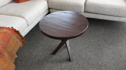 "Davies Dallas Side Table in ""B"" stain- distressed Oak"