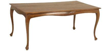 Davies French Provincial Cabriole Dining Table