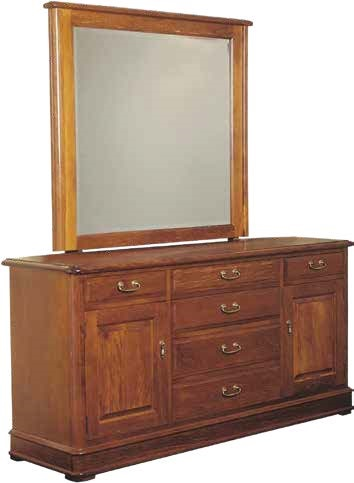 Davies Classic Kauri Duchess with Mirror