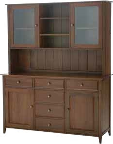Davies Shaker Buffet with Hutch