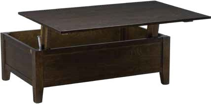 Davies French Provincial Lift Top Coffee Table