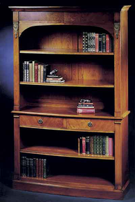 Fitzroy Bow Front Bookcase
