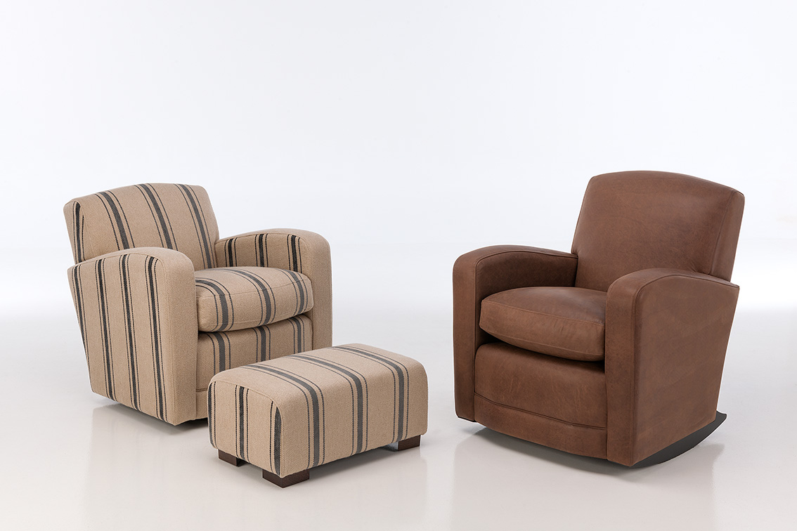 Montreux Rupert armchair with optional footstool
